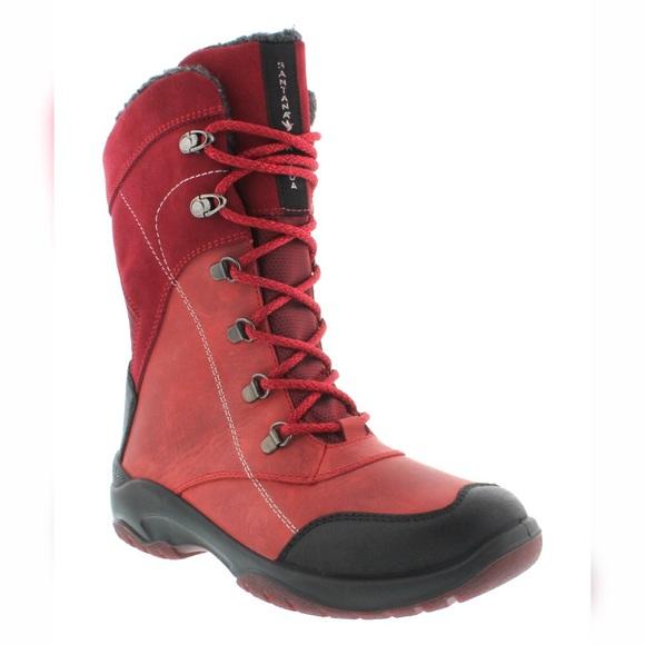 12dbbf7e12b Sanatana Canada Red Topspeed Waterproof Boots 7